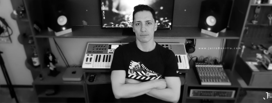 Jairo Bonilla in the studio with Magix Music Maker - entrevista enterview