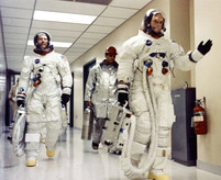 Crew on the Way to Launch