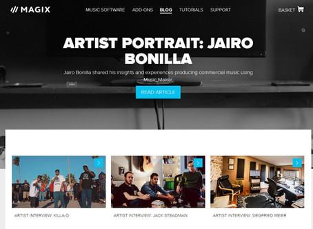 PORTADA: JAIRO BONILLA Y MUSIC MAKER®