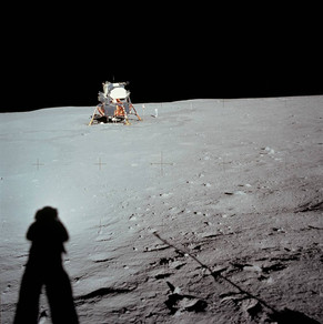 Lunar Module at Tranquility Base