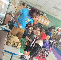 Autism Awareness Week at New Prospect Elementary School