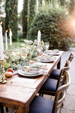 Hochzeitstafel Bohemian Wedding