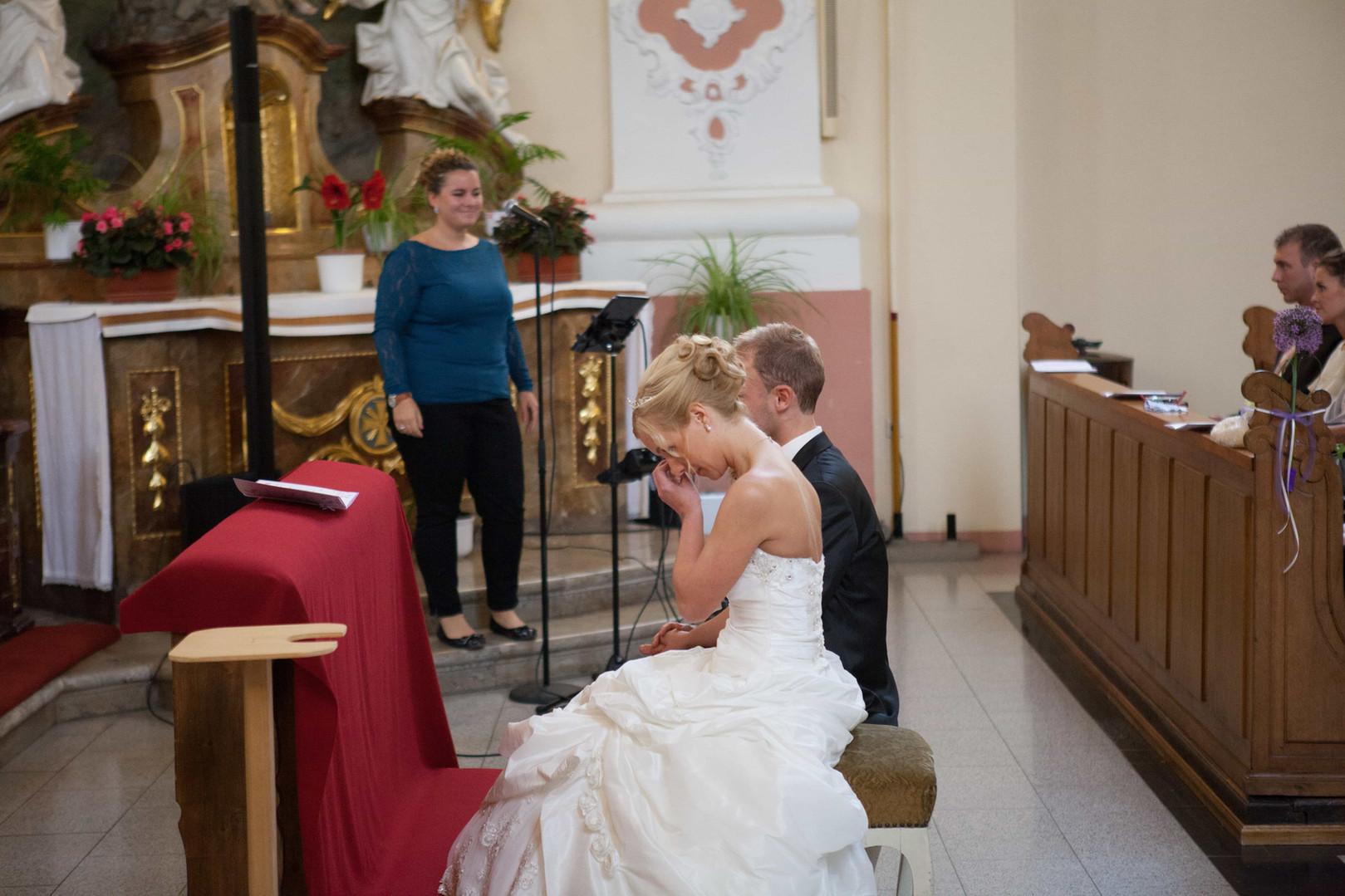 Kirchliche Trauung mit Gesang