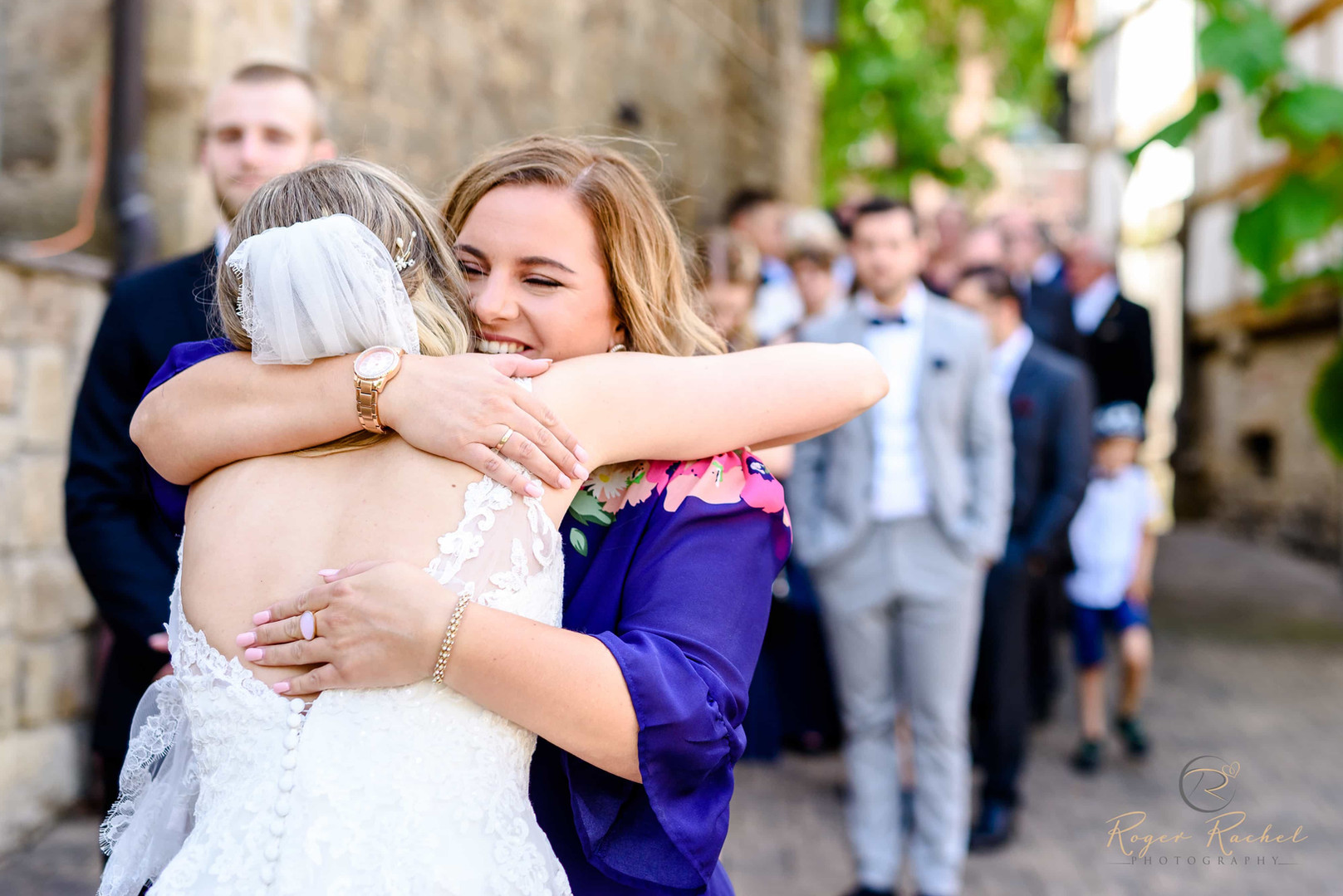 Gratulation dem Brautpaar
