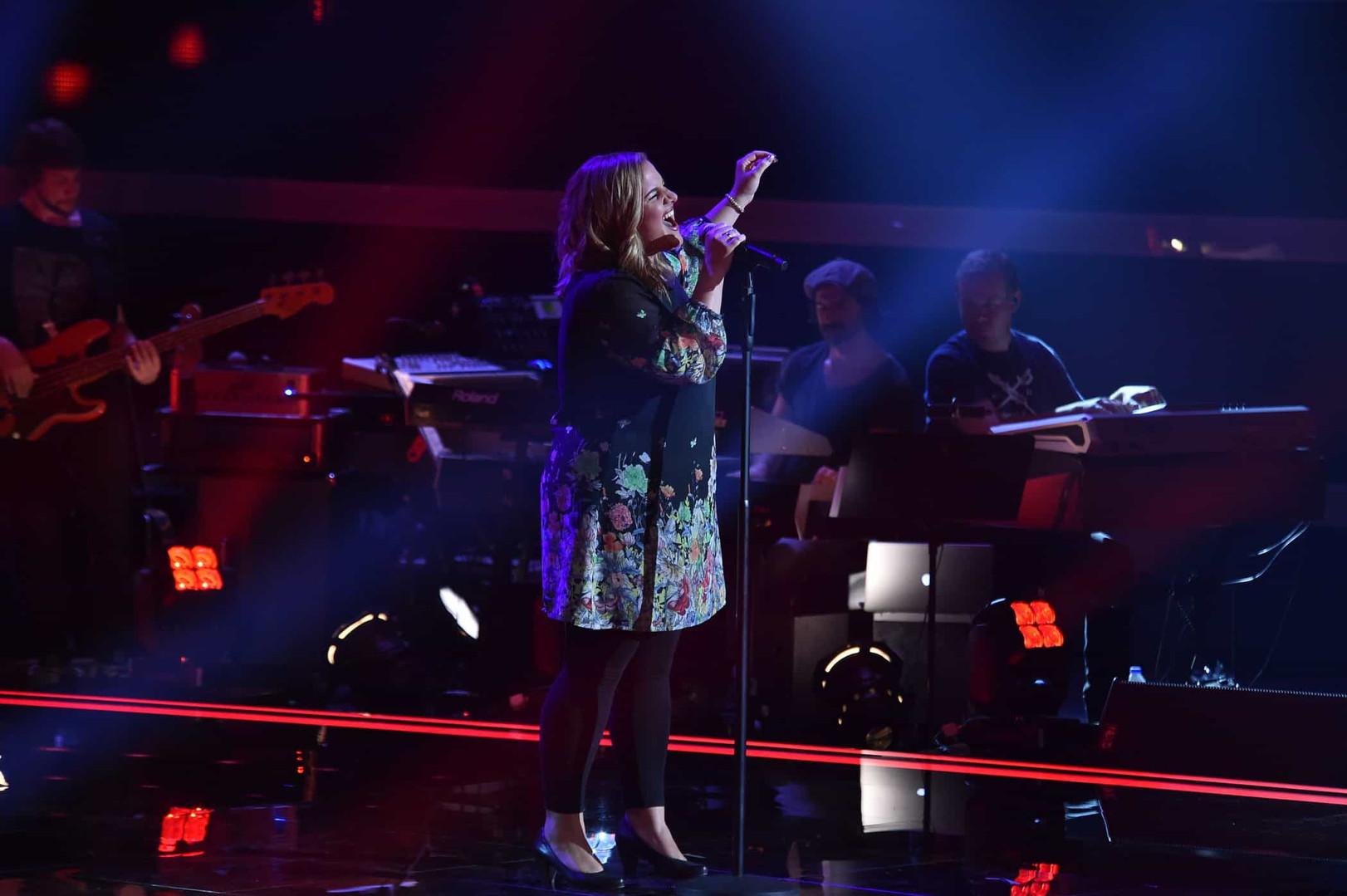 The Voice of Germany Auftritt Nora Brandenburger