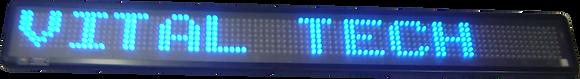 PMV-153 - PAINEL DE MENSAGEM COM DATA E HORA
