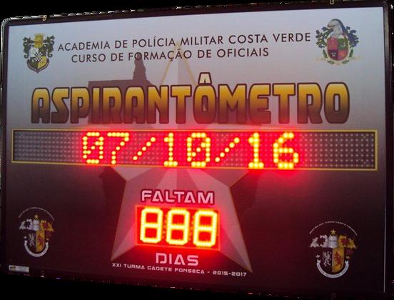 IND-0165 INDICADOR DE DIAS COM JORNAL ELETRÔNICO