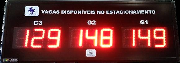 IND-0138 - CONTADOR DE VAGAS 9 DÍGITOS