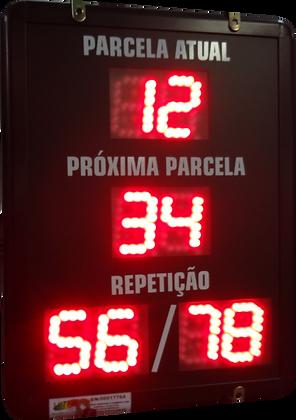 IND-0355 - INDICADOR DE PRODUÇÃO SERIAL RS232