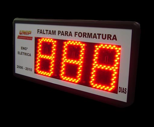 CON-0306 - CONTADOR DE DIAS 3 DÍGITOS