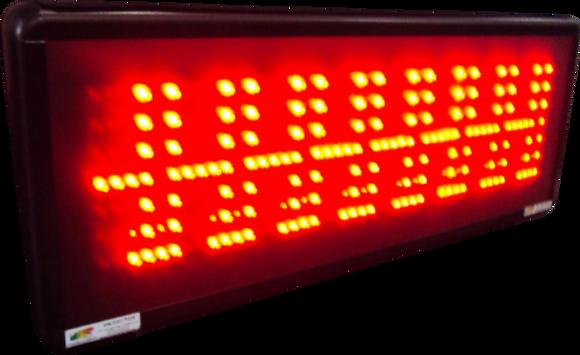 PMV-90E PAINEL DE MENSAGEM COM DATA E HORA ETHERNET