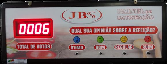 IND-0321 - INDICADOR DE SATISFAÇÃO COM 4 OPÇÕES