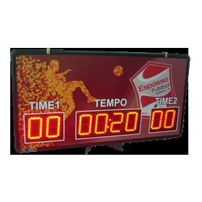 IND-0076 - PLACAR ESPORTIVO PONTUAÇÃO E TEMPO