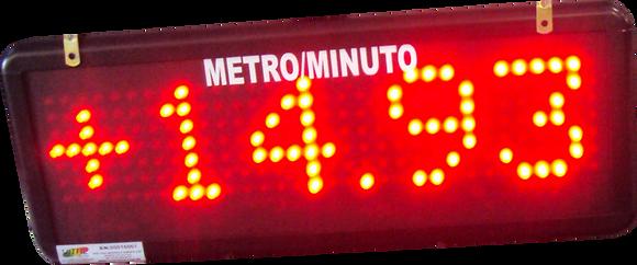 IND-0253 INDICADOR ALFANUMÉRICO DE 0-10 V 10CM (50 CM)