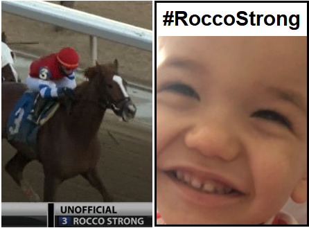 ROCCO STRONG - WINNING FOR A GOOD CAUSE!