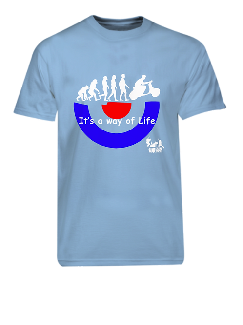 It's a way of Life T-shirt - Blue