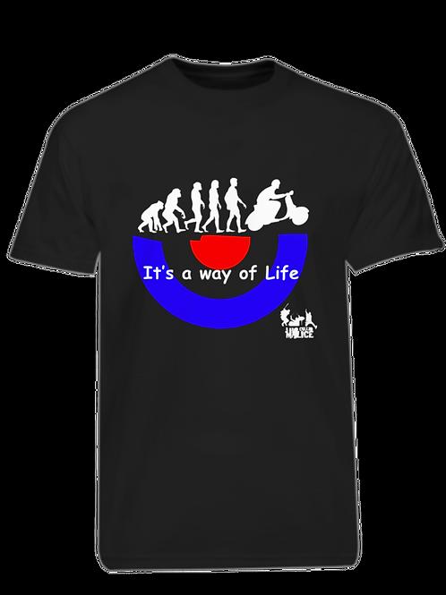 It's a way of Life T-shirt - Black