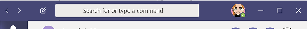 The search bar in Microsoft Teams