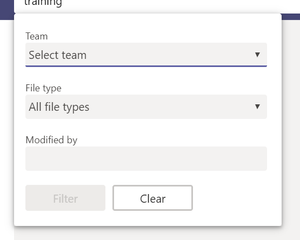 Filters for files