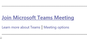 Meeting options in Outlook
