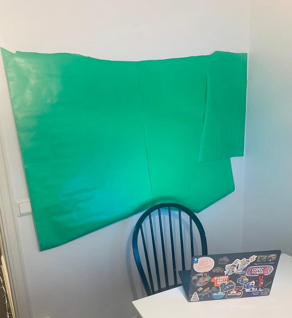 My green screen