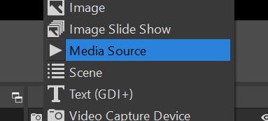 Add a media source