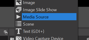 Add a media source
