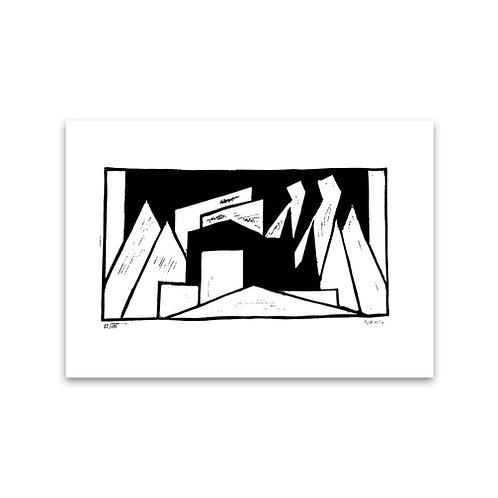Thilo Maatsch (1900-1983): Berge (1924)