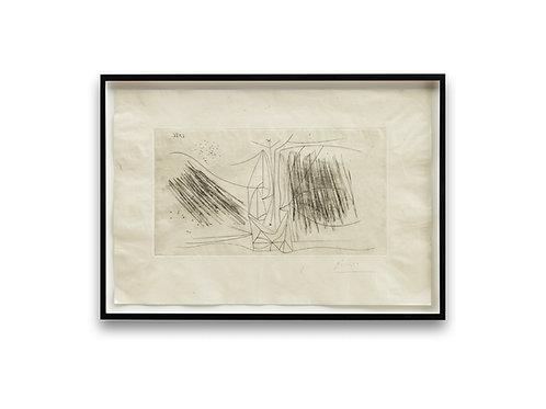 """Pablo Picasso: """"Composition avec une femme"""" (1956)"""