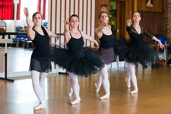 Workshop Ballet Keeley, jade, Laura, Hea
