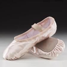 Wide Fit - Capezio Daisy Satin Ballet Shoe