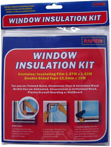 everyday low prices, window, insulation, window insulation, winter, condensation, draught, draughts