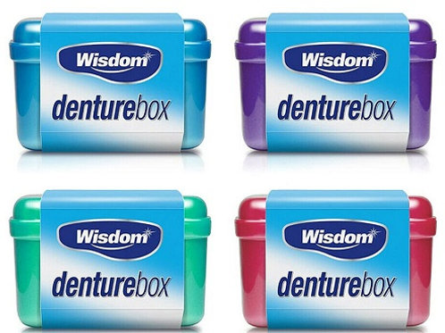 Denture Box ideal for storing Dentures, False Teethand Mouthguards