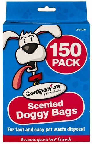 150 Scented Doggy Bags