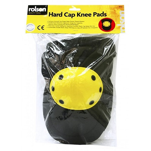 Hard Cap Knee Pads grooved cap design helps prevent thread abrasion. Durable knee protection, ergonomic design