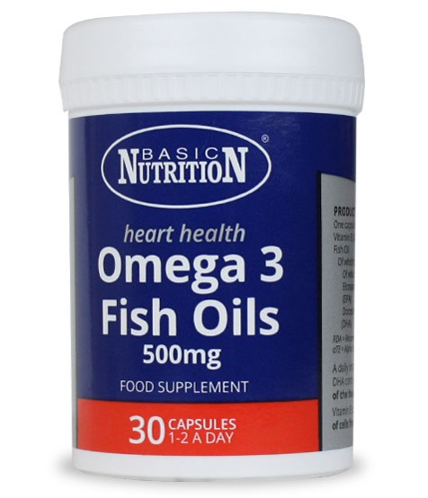 Vitamins - Omega 500mg 30s