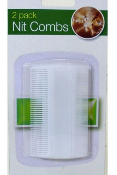 Nit Combs remove anything that's attached to the hair such as lice, nits and unhatched eggs