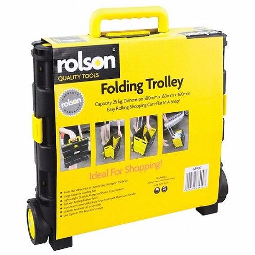 Rolson 25kg Folding Boot Trolley