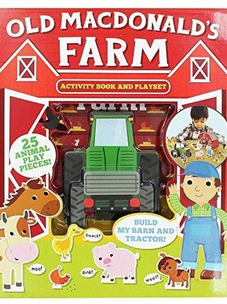 Old MacDonald's Farm includes a Fun Activity Book and 25 Animal Pieces for You to Create