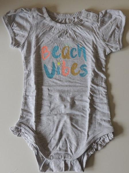 Beach Vibes Baby Bodysuit