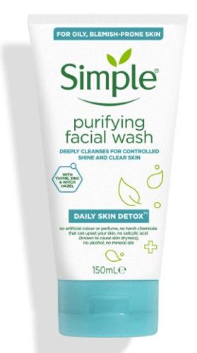Simple Purifying Facial Wash Detox 150ml