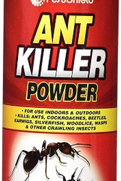 Ant and Cockroach Powder Kills: ants, cockroaches, beetles, earwigs, silverfish, woodlice, wasps and other crawling insects