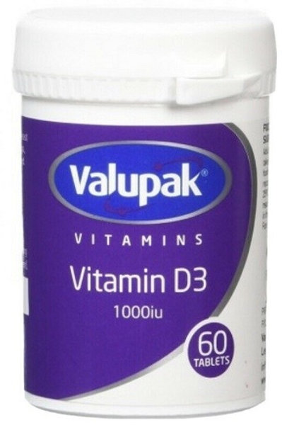 Vitamin D tablets help to support normal immune system function, which can help lower the risk of contracting a cold or flu.