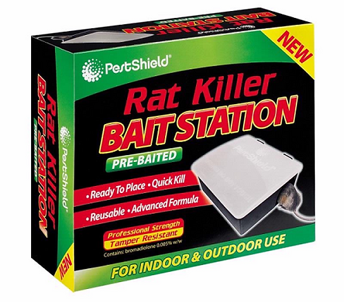 Pre-Baited Rat Station