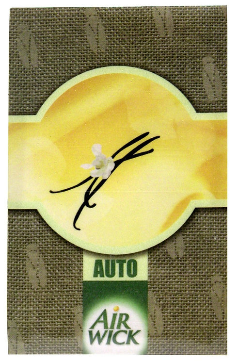 Air Wick Vanilla and Spices Car Air Freshener