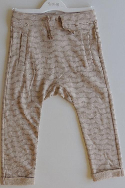 Fleece Lined Pants - Oatmeal Colour
