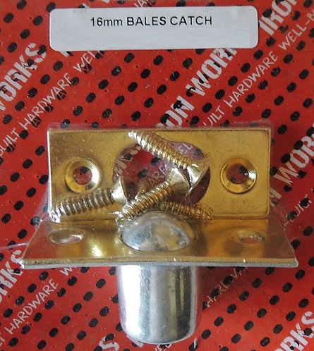 Bales Catch Brass Plated