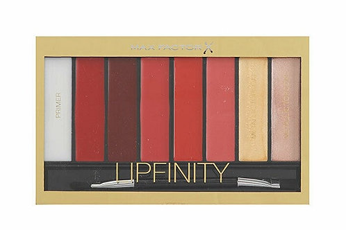 Max Factor Lipfinity Designer Lip Palette - Lipstick, Primer, Metallic Top Coat.  A professional lip-palette created by Max F
