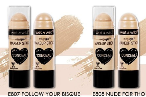 Wet N Wild Glo Concealer Sticks - Follow Your Bisque and Nude For Thought