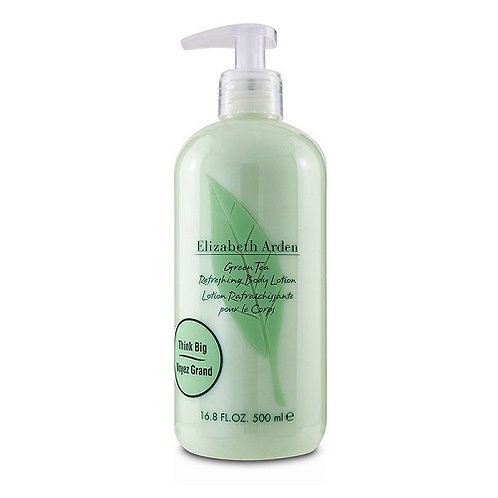 Elizabeth Arden Super Size Green Tea Refreshing Body Lotion is a silky cream packed with phytolipids and humectants